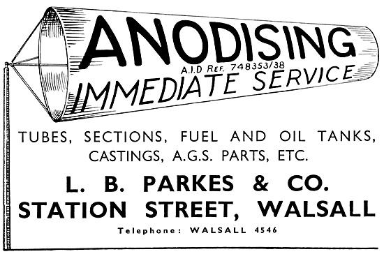 L.B.Parkes Anodising Service