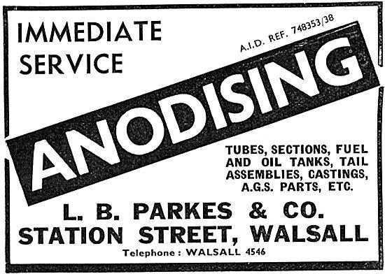L B.Parkes Anodising
