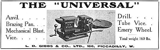 The L.D.Gibbs & Co Universal Mulit Purpose Vice & Brazing Pan