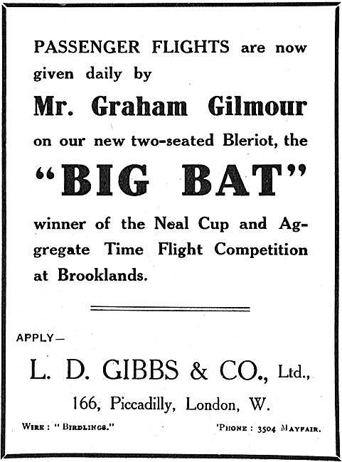 Passenger Flights At Brooklands With Graham Gilmour On Big Bat