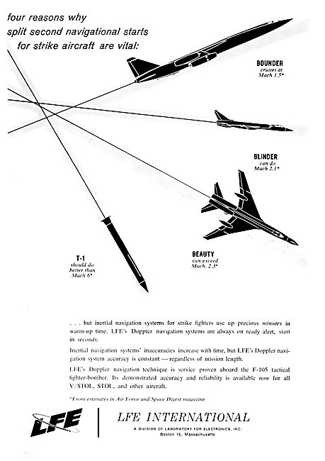 LFE International - Aircraft & Missile Navigation Systems