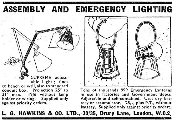L.G.Hawkins Assembly & Emergency Lighting