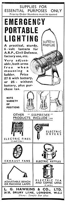 L.G.Hawkins Assembly & Emeregency Lighting