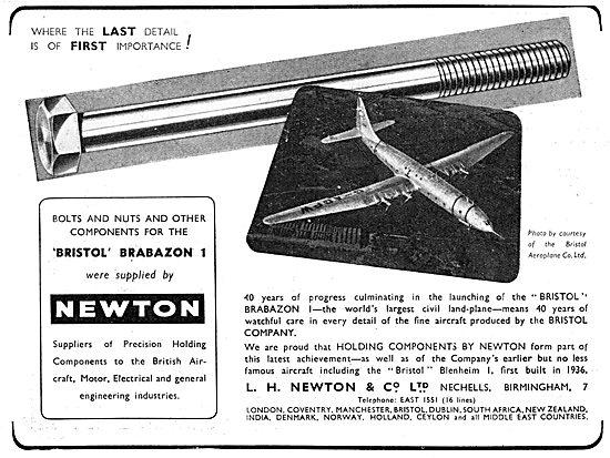 L.H. Newton - Precision Fasteners, Repetition Parts