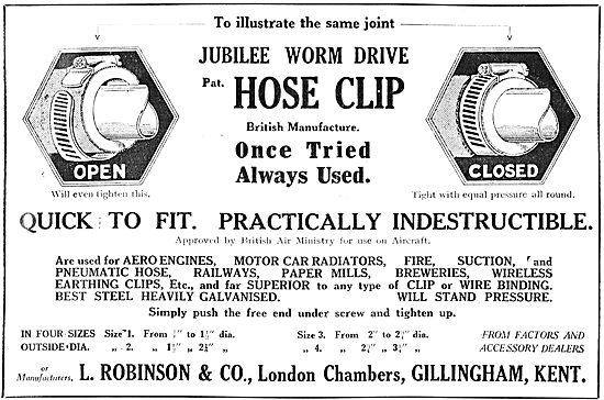 L.Robinson & Co - Jubilee Clips