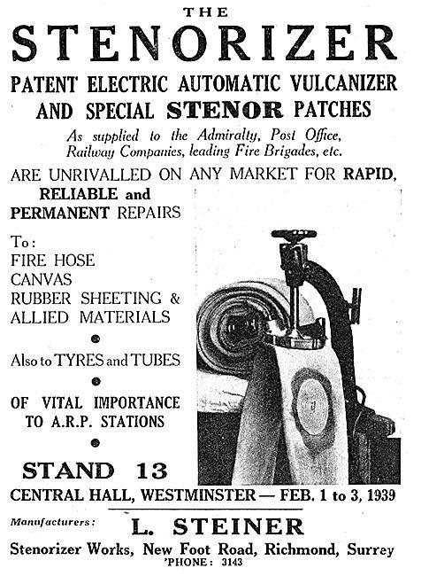 L.Steiner. Stenorizer Automatic Vulcanizer