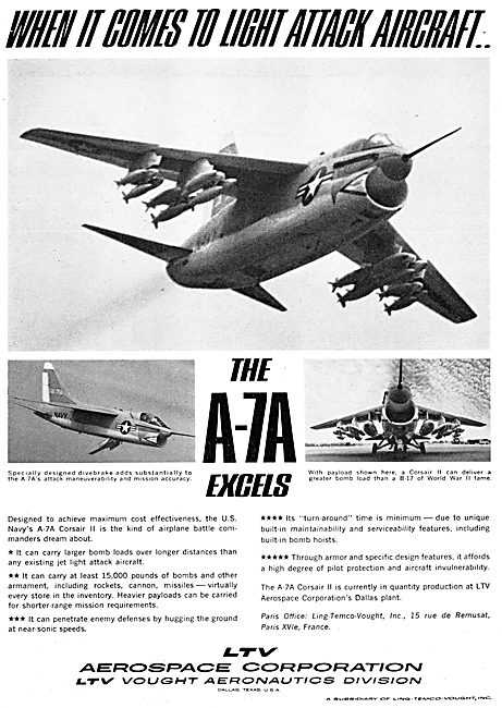 LTV A-7A Corsair II