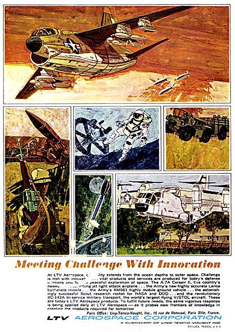 LTV Corsair II & Aerospace Projects 1967