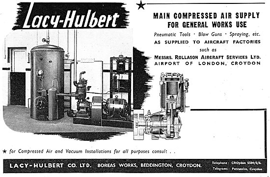 Lacy-Hulbert Compressed Air Supplies
