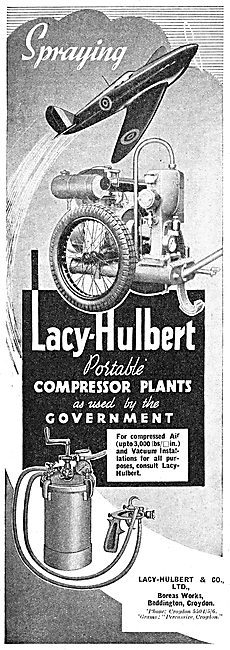 Lacy-Hulbert Portable Compressor Plants