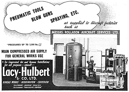 Lacy-Hulbert Compressed Air Equipment