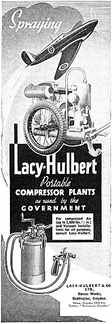 Lacy-Hulbert Portable Air Compressor Plants
