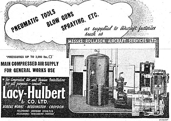Lacy-Hulbert Compressors & Pneumatic Equipment