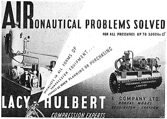 Lacy-Hulbert Compressed Air Installations