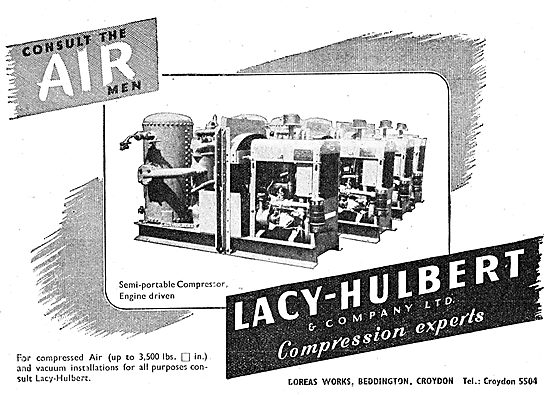 Lacy-Hulbert Compressed Air Systems