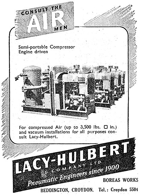 Lacy-Hulbert Compressed  Air Products