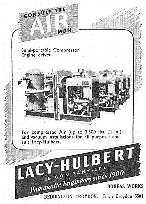 Lacy-Hulbert Pneumatic Engineers