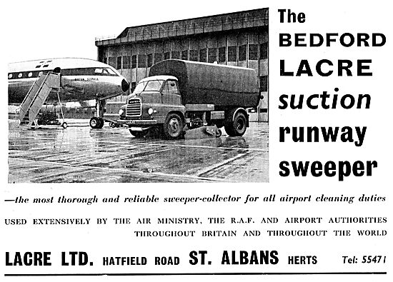 Bedford Lacre Suction Runway Sweeper