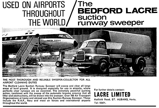 Bedford Lacre Suction Runway Sweeper 1968