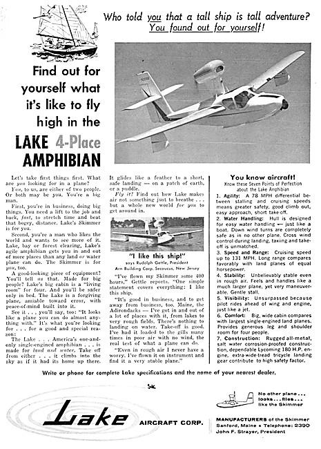 Lake Amphibian