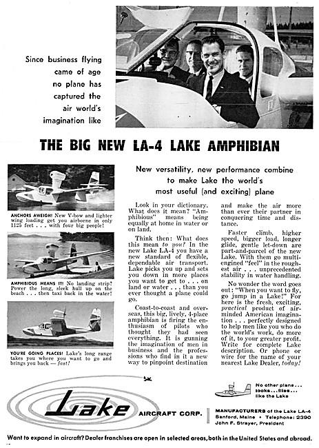 LA-4 Lake Amphibian