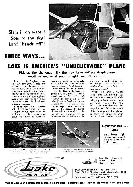 Lake Aircraft - Lake Amphibian