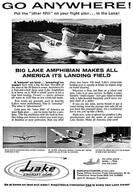Lake Aircraft -  - Lake Amphibian