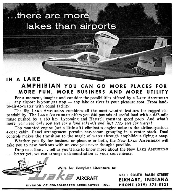 Lake Aircraft - Lake Amphibian 1963