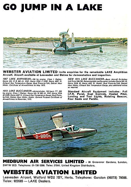 Lake Aircraft - Lake Amphibian 1974