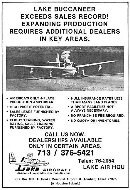 Lake Aircraft - Lake Buccaneer Amphibian