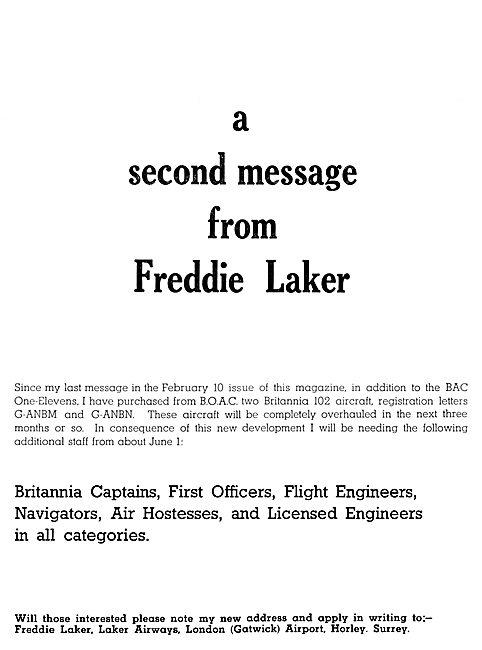 Laker Airways Recruitment
