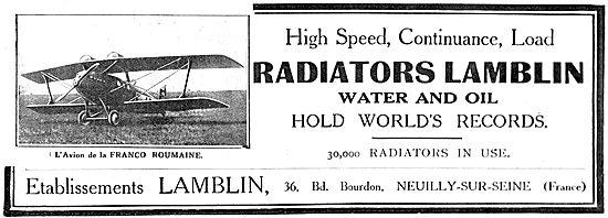 Lamblin Radiator On Franco Roumaine