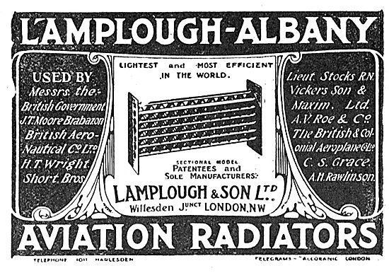 Lamplough-Albany Aviation Radiators