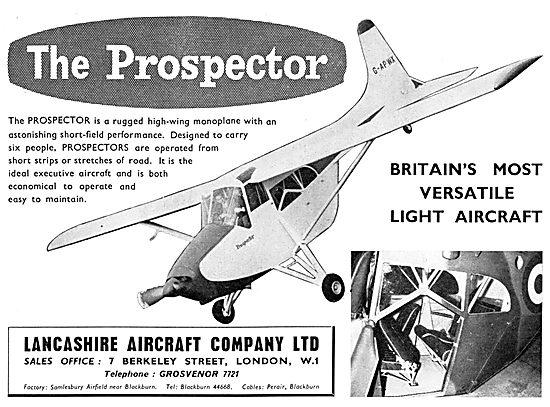 Lancashire Aircraft Prospector