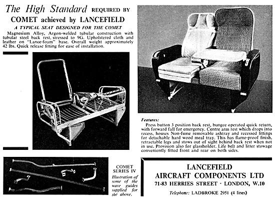 Lancefield Aircraft Components & Assemblies