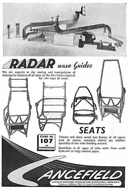 Lancefield Aircraft Sheet Metalwork, & Tubular Assemblies