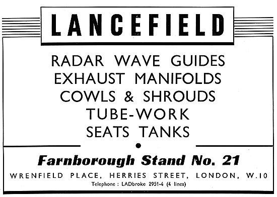Lancefield . Aircraft Engineering .Aircraft Seating & Components