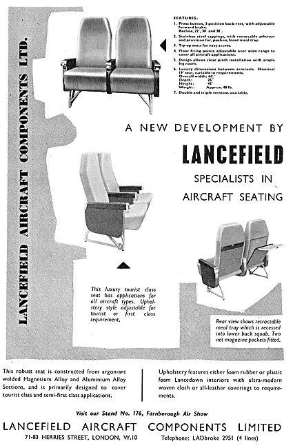 Lancefield Aircraft Seating