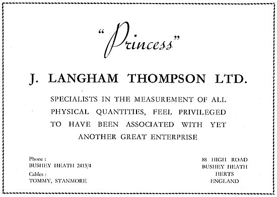 Langham Thompson Physical Quantity Measurement Specialists