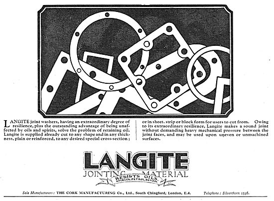 Langite Jointing Materials For Aviation
