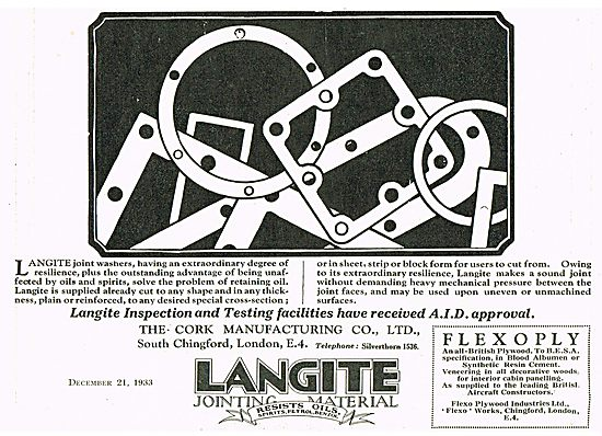 Langite Joint Washers & Gaskets