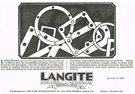 Langite Cork Gaskets