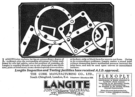 Langite Joint Washers - Gaskets