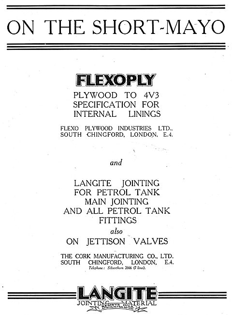 Langite Jointing Material - Flexoply Plywood - Flexo