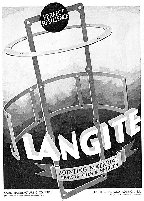Langite Oil Resistant Gaskets & Jointing Material