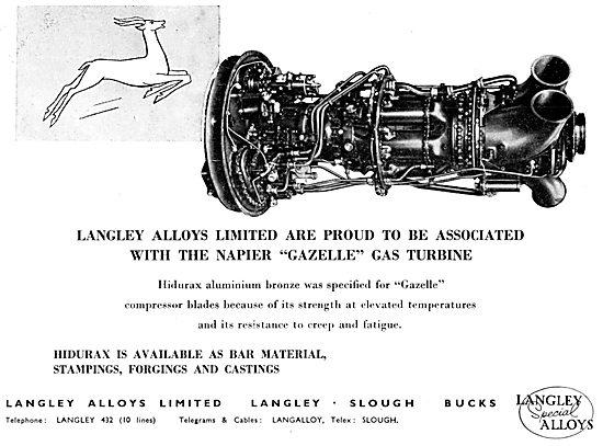 Langley Alloys - Aluminium Bronzes - Hidurax Stampings
