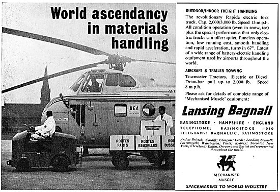 Lansing Bagnall - Aircraft Freight Handling Vehicles