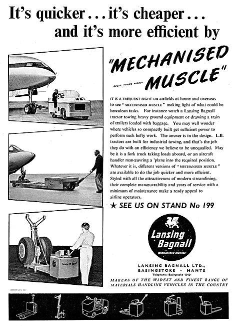 Lansing Bagnal Materials Handling Vehicles & Aircraft Tugs