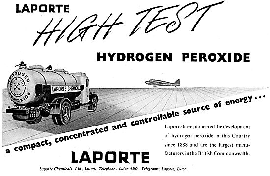 Laporte Chemicals: HTP High Test Peroxide