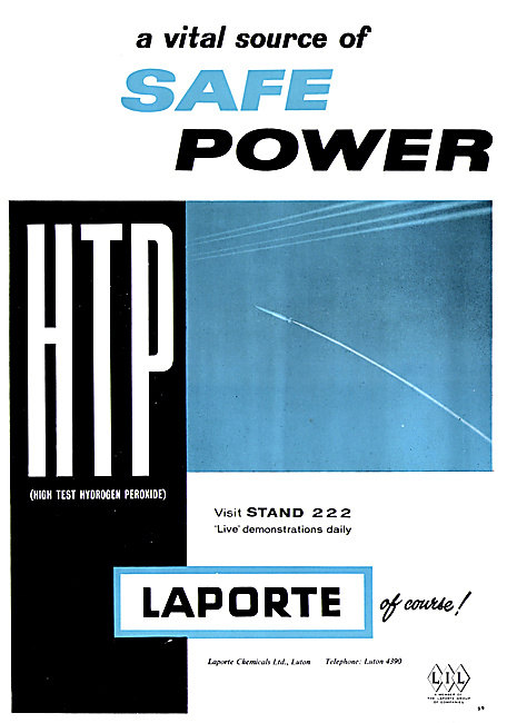 Laporte Chemicals: HTP High Test Peroxide- Hydrogen Peroxide